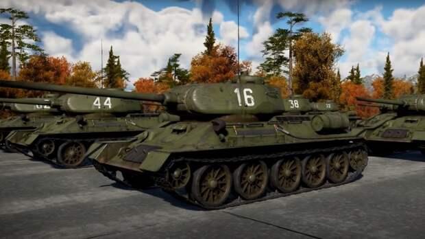 Геймеры организовали виртуальный парад Победы в компьютерной игре War Thunder