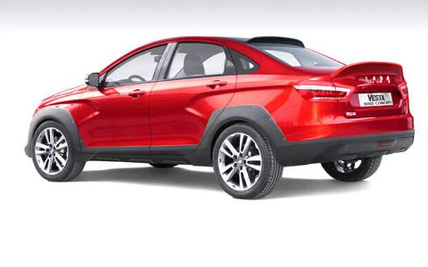 Lada Vesta получит независимую подвеску — завод тут ни при чем!