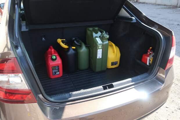 60 литров топлива