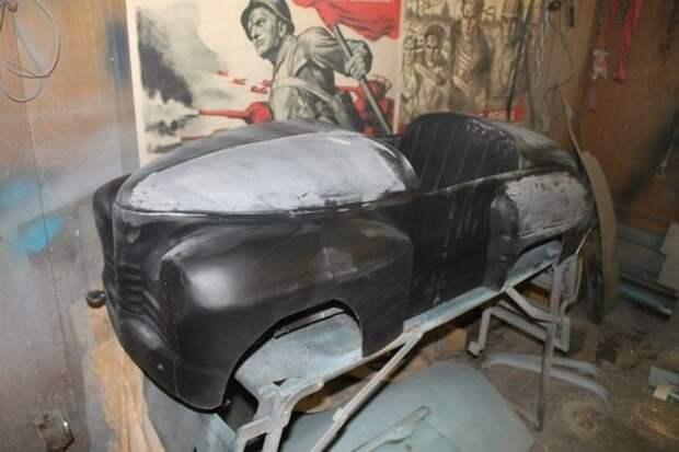 Педальная машинка УРАЛ — восстановление из пепла восстановление, педальная машинка, реставрация, своими руками
