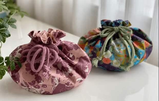 Красивая и полезная вещица из лоскутков и остатков ткани