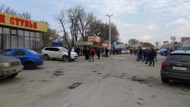 Торговцы заблокированных рынков вРостовской области пожаловались напустые обещания