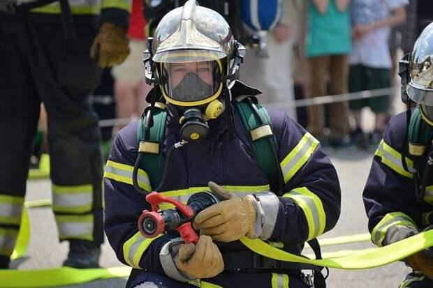 Семь человек спасены при пожаре в Щукине