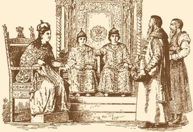 Кровавый масонский след в русской истории.  Стрелецкий бунт 1682 г. Хованщина