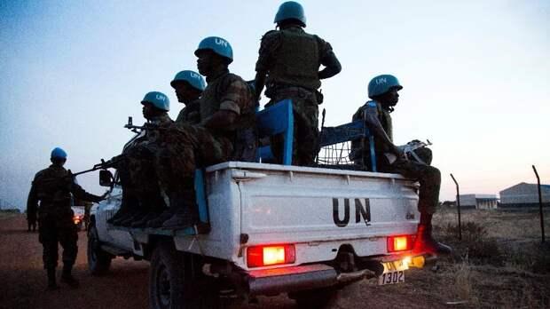 Повстанцы в ЦАР убили трех миротворцев ООН