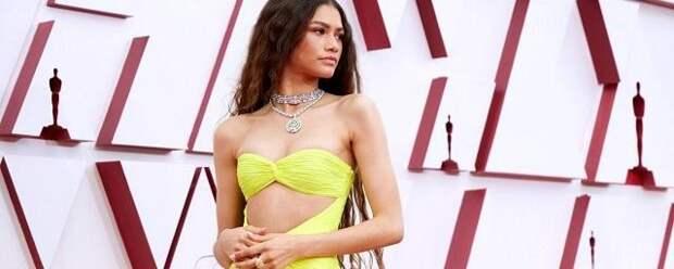 Актриса Зендая пришла на «Оскар» в украшениях за $6 млн