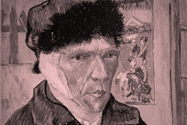 Винсент Ван Гог. «Автопортрет с отрезанным ухом», 1889