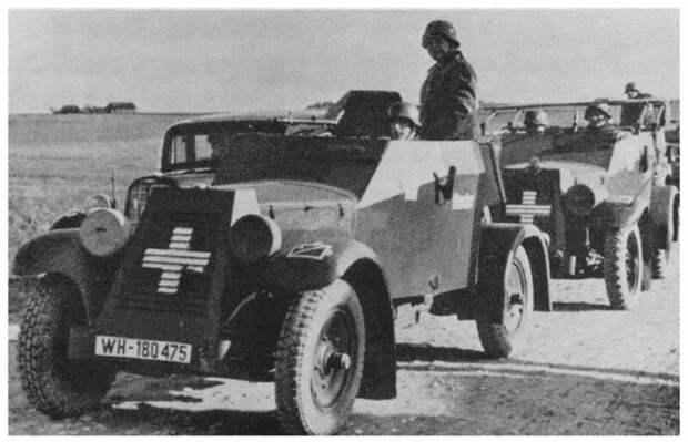 false Maschinengewehrkraftwagen, Sd.Kfz.13, авто, адлер