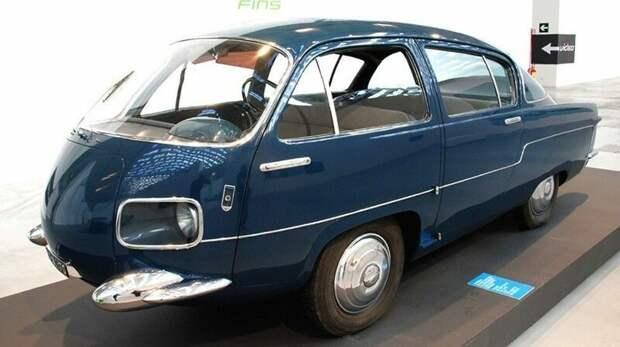 Оригинальная итальянская заднеприводная машина вагонной компоновки Morelli M-1000. 1956 год авто, автомобили, атодизайн, дизайн, интересный автомобили, олдтаймер, ретро авто, фургон