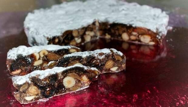 Панфорте - итальянский орехово-фруктовый пирог