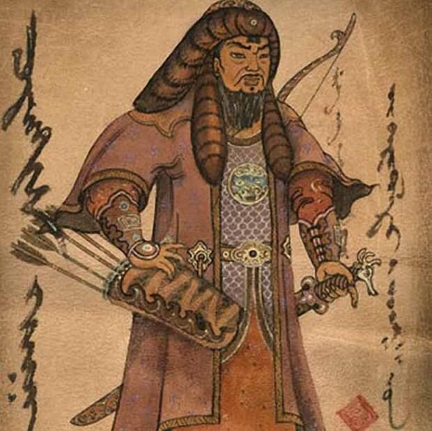 Отображение западного похода монгол в Австрийской хронике.