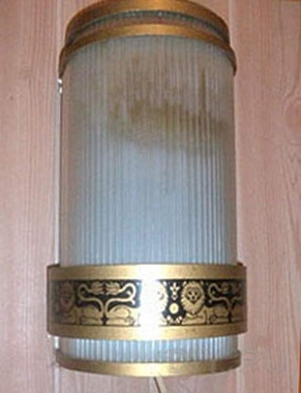Старая лампа