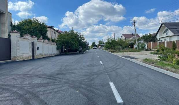 Две дороги отремонтировали вСтаврополе понацпроекту
