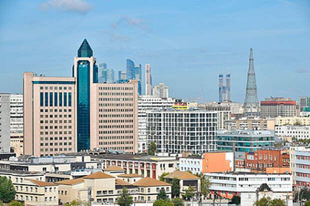 Москва оказалась в тройке лучших городов с эффективной экономикой в период пандемии