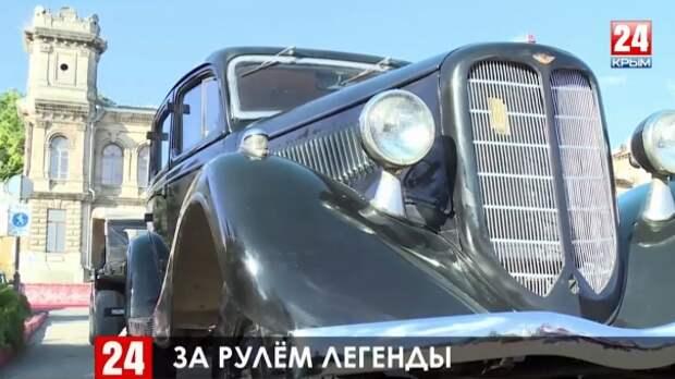 Керчане восстанавливают легендарные машины Советского Союза