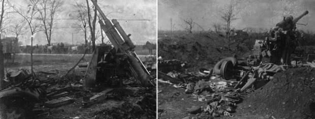 Немецкие зенитные орудия калибра 88 мм