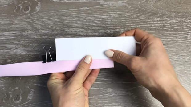 Просто надрезать и свернуть — красота из фоамирана за 30 секунд