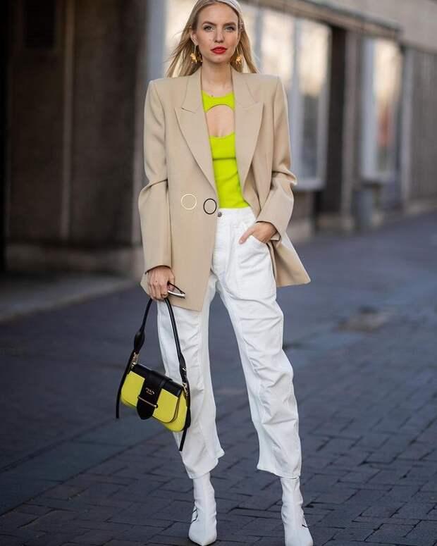 Что носить, пока ещё холодно: 6 стильных образов на начало весны