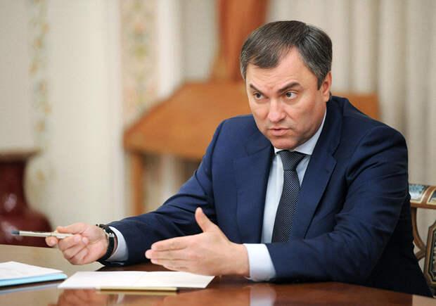 Володин пообещал пожилой жительнице Саратова, что чиновники в России престанут воровать