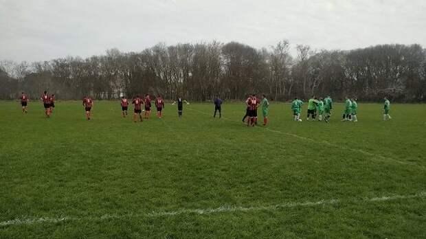 Состоялся матч между сборными  командами Джанкойского  и Черноморского районов