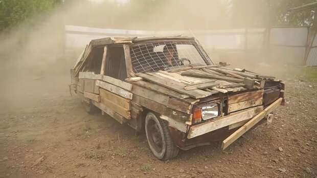 Для ВАЗ «Жигули» придумали деревянный тюнинг