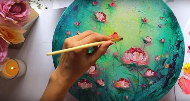 Простая техника, которая поможет даже новичку нарисовать шедевр