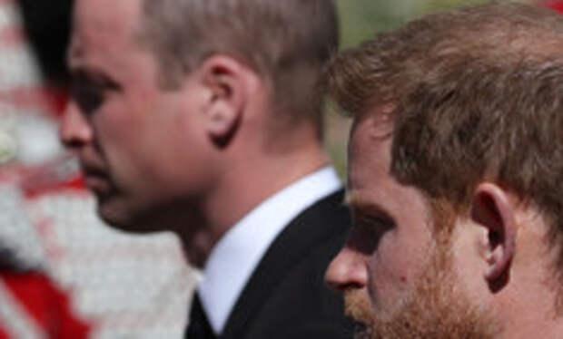 На шаг ближе: Уильям и Гарри поговорили друг с другом после похорон принца Филиппа