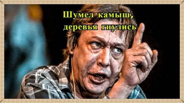 Михаил Ефремов искусственный актёр в маске гражданина поэта.