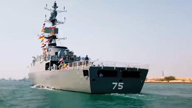 Иран завершил создание нового эсминца