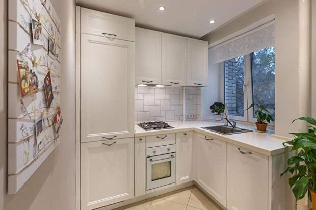 Маленькая кухня может быть стильной, удобной и функциональной