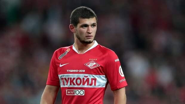 В «Спартаке» сообщили о расторжении контракта с Гулиевым