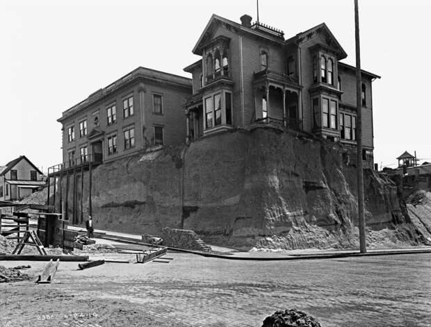 Очень странные фотографии Сиэтла начала 1900 х годов.