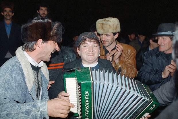 Чечня, ноябрь 1991 года