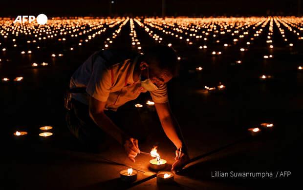 Красивый рекорд установили буддийские монахи