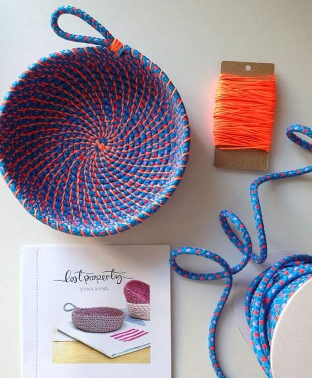 20 блестящих идей для дома из простой верёвки