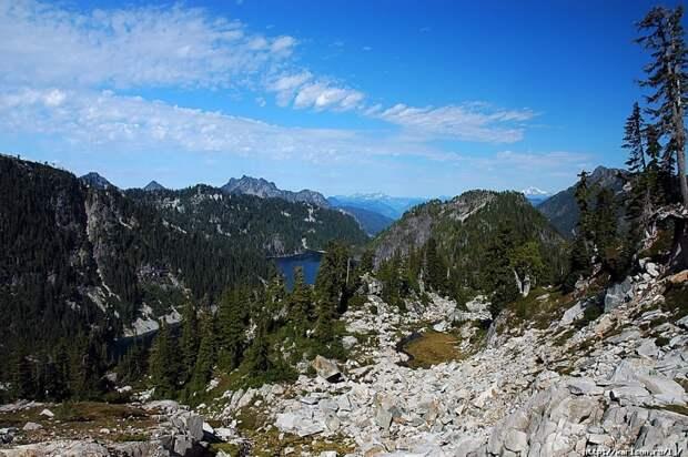 Озёрный край в штате Вашингтон
