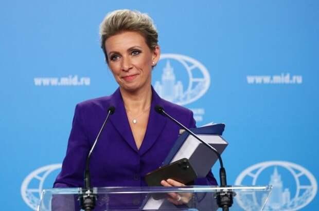 Захарова: США откровенно вмешивались в выборы в Госдуму