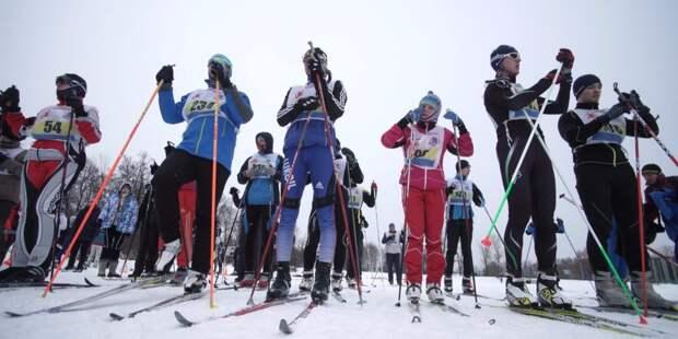 В «Парке Яуза» пройдут лыжные гонки