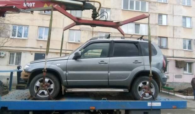 У жителя Ижевска за долги изъяли автомобиль