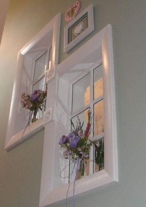 5. Окно в нише дизайн интерьера, идеи, окна, пейзаж, пространство, ремонт