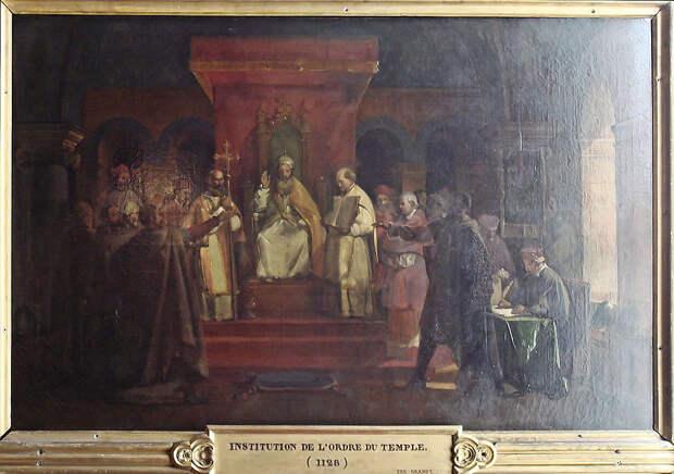 File:Institution de l Ordre du Temple 1128 par Granet.jpg