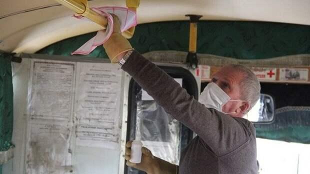 В общественном транспорте Джанкойского района проводится профилактическая дезинфекция для предупреждения распространения коронавирусной инфекции