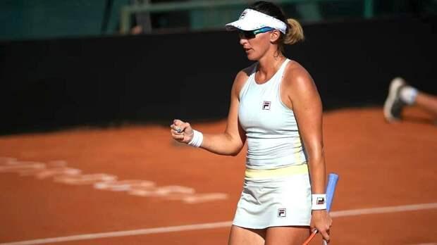 С победы в турнире стартовала казахстанская теннисистка на турнире в Италии