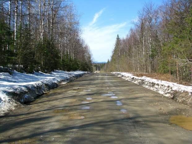 В Удмуртии 26 марта воздух прогреется до +7 градусов