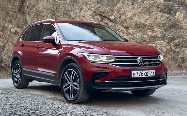 Выросли цены на Volkswagen Polo, Tiguan и Touareg