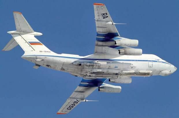 самолет судного дня, ретранслятор ил-76рт, система звено