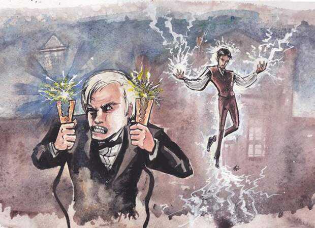 Тесла против Эдисона| Фото: PicSnaper.