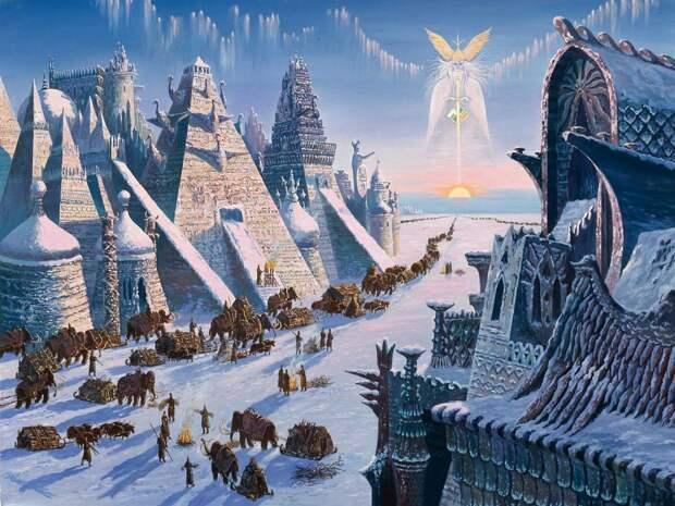 Какие 4 цивилизации обитали на Земле до нас