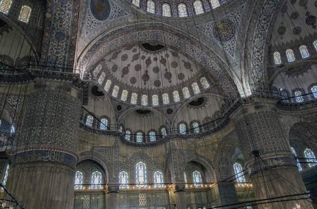 Прогулка по Стамбулу. Мечеть Sultanahmet Camii (Blue Mosque)