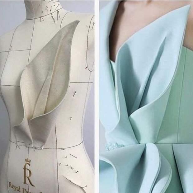 Оригами платье